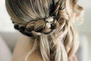 braided wedding hair style
