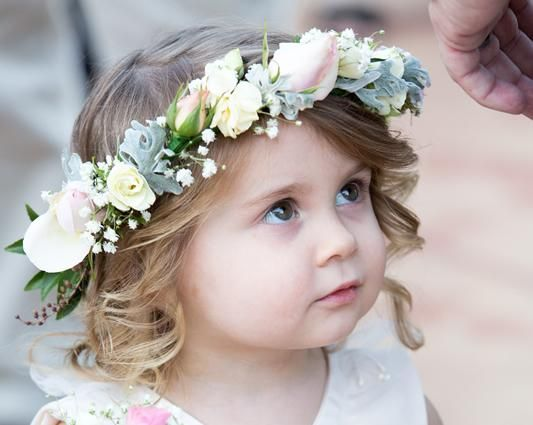 Flower Girl Hairstyles For Wedding: Coastal Style Mobile Hairdressing