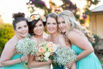 bridal party hairstylist buderim