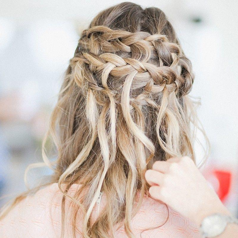 Braids Coastal Style Mobile Hairdressing Sunshine Coast - Bridesmaid hairstyle beach