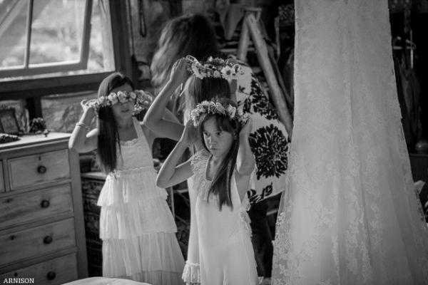 flower girl bridal party mobile hairdresser noosa