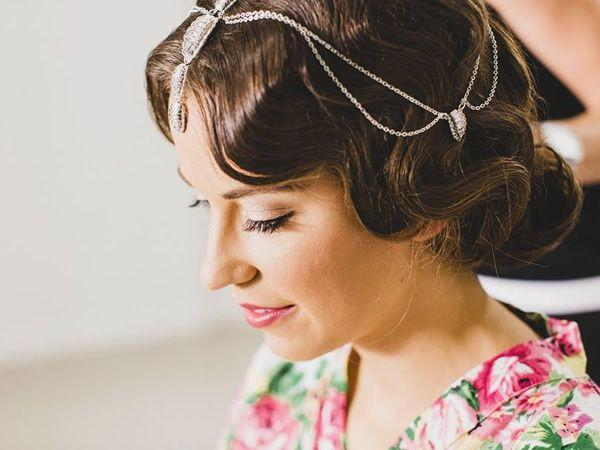 Retro vintage coastal style mobile hairdressing sunshine coast wedding hairstyle sunshine coast vintage bride hairstyle junglespirit Image collections