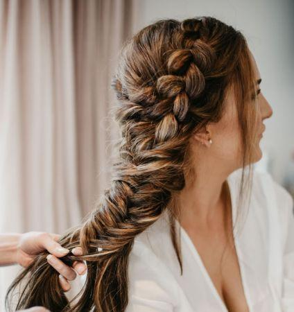 Wedding Hair Braid Sunshine Coast